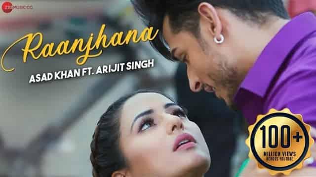 रांझणां Raanjhana Lyrics In Hindi - Arijit Singh