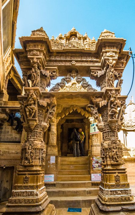 Entrance to Jain Temples