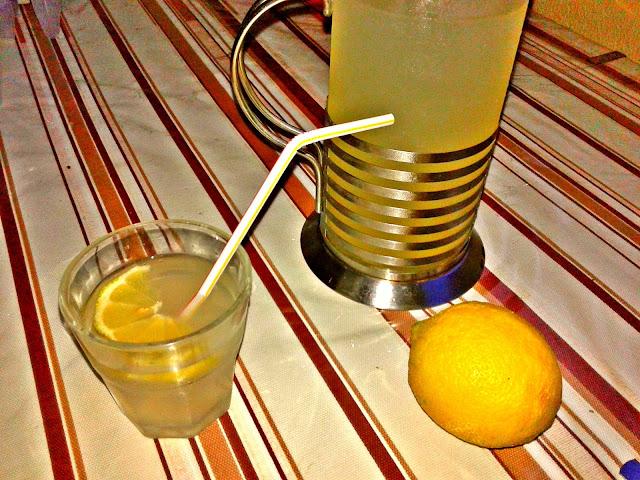 як приготувати лимонний сироп лимонад