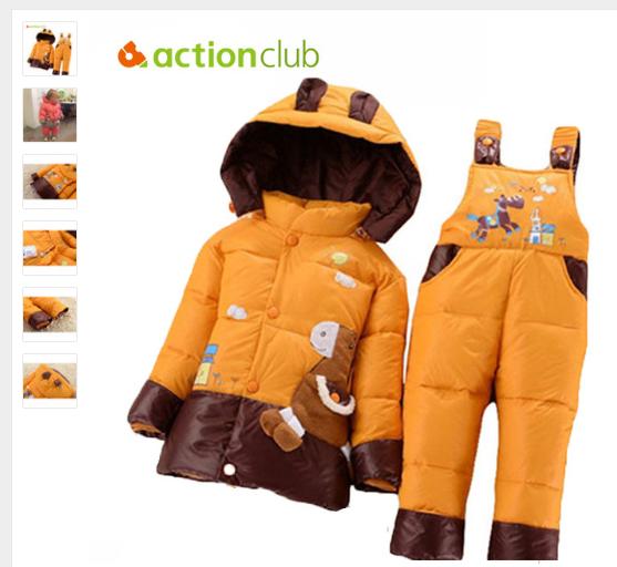 99b7d6c38 Boys Clothing Outerwear   Coats New Cotton Baby Girls Coat - Kids ...