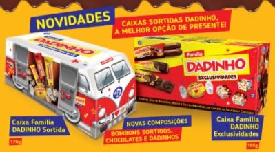 Novidades Dadinho Páscoa 2021 - Kits Lançamentos