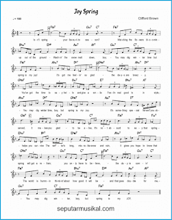 chord joy spring lagu jazz standar