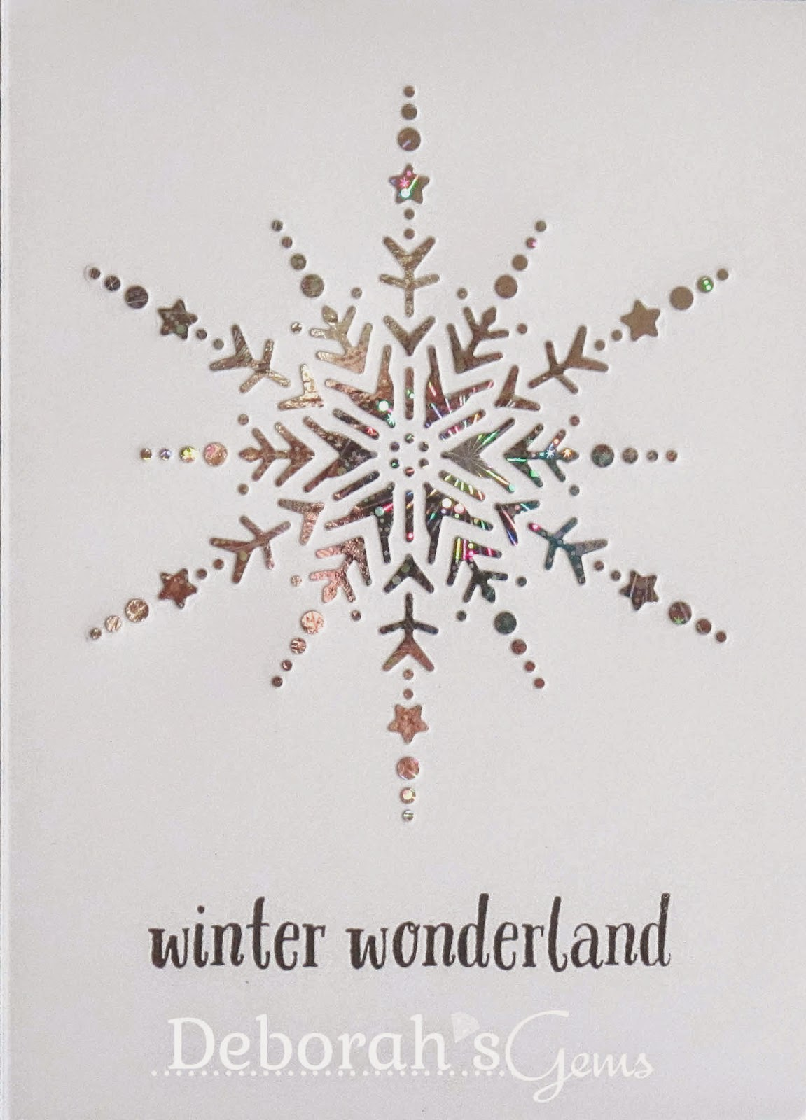 Winter Wonderland - photo by Deborah Frings - Deborah's Gems