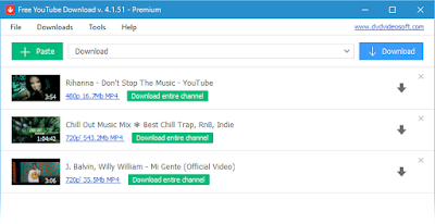 Free YouTube Download 4.1.76.507