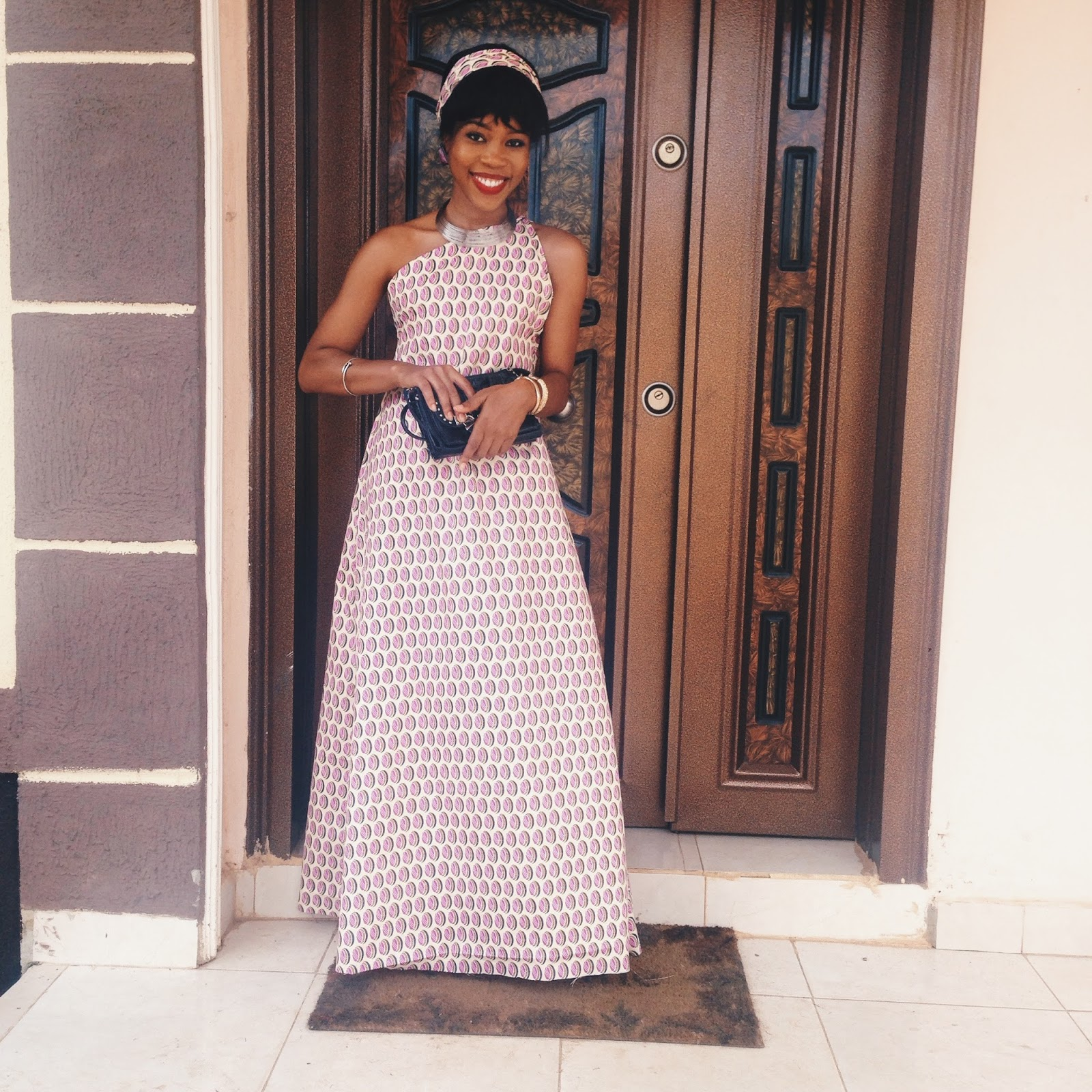 DIY ANKARA GOWN