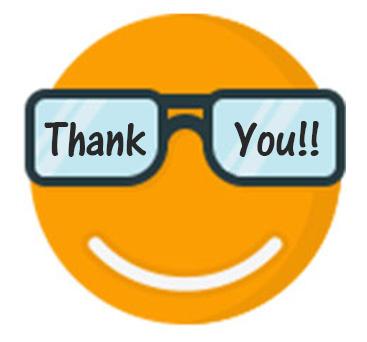 Smiley Face Thank You Emoji 1