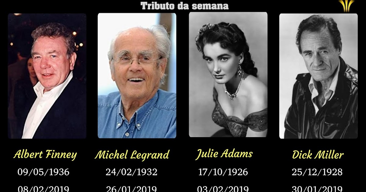 Tem Na Web - MORREM ALBERT FINNEY, MICHEL LEGRAND, JULIE ADAMS E DICK MILLER