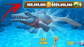 Download Hungry Shark Evolution MOD Free EVERYTHING