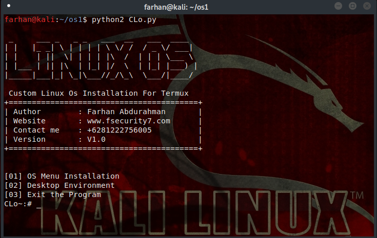 cara install atom di kali linux