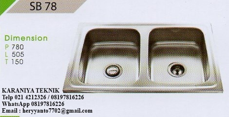 kitchen sink murah bagus with Jual Royal Kitchen Sink Type Sb 78 on Rumah Cantik Dan Murah Ini Cuma 5 Menit Ke Stasiun Cilebut Bogor additionally Jual Royal Kitchen Sink Type Sb 78 additionally Meja Dapur Gas Murah furthermore Pasang Pintu Lipat P250864 additionally 2dxmgb Jual Bathtub Murah Standing.
