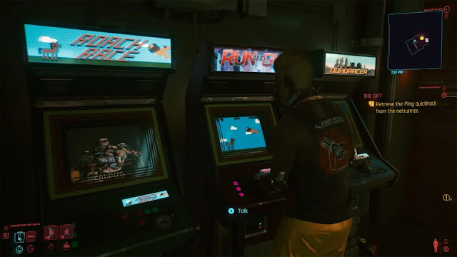 7 Easter Eggs in Cyberpunk 2077, Vice President KONAMI Drinks at the Bar?