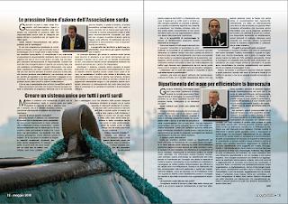 MAGGIO 2018 PAG 13 - Dipartimento del mare per efficientare la burocrazia