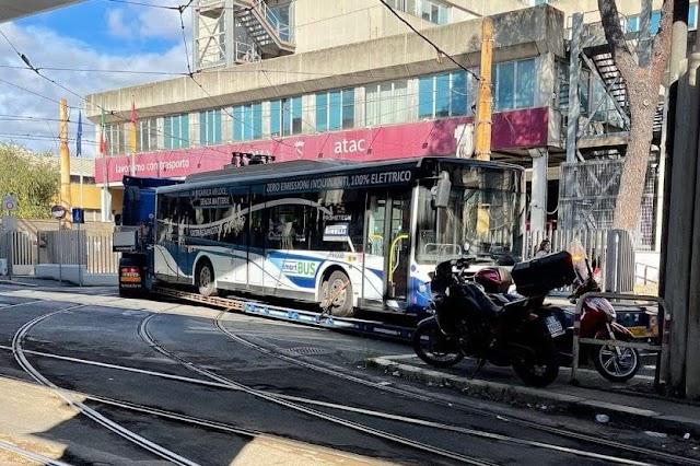 Arriva Smartbus, Atac testa il primo bus elettrico