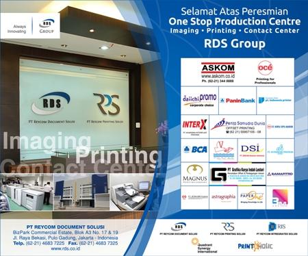 Percayakan Manajemen Dokumen Bisnis Anda Pada RDS Group