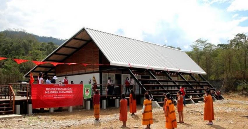 MINEDU inaugura residencia para estudiantes de comunidades nativas del VRAEM