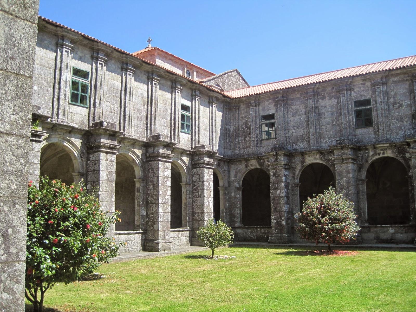 Monasterio de Santa María de Armenteira en Meis