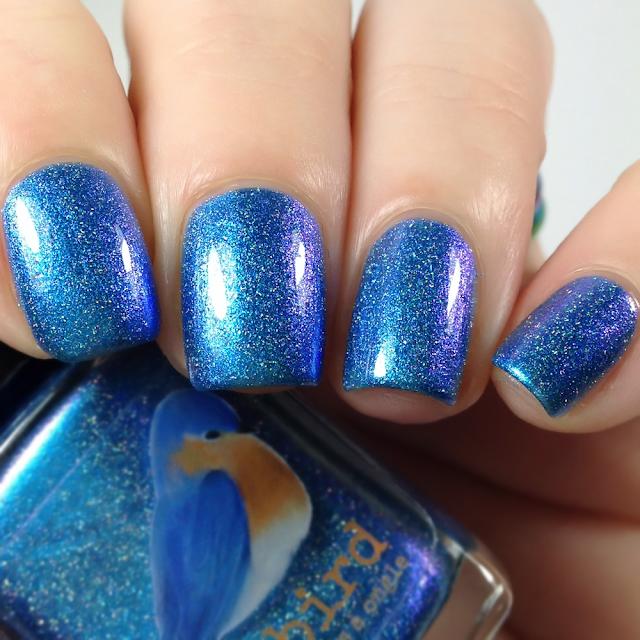 Bluebird Lacquer-Ra Ra Sis Boom Bah!