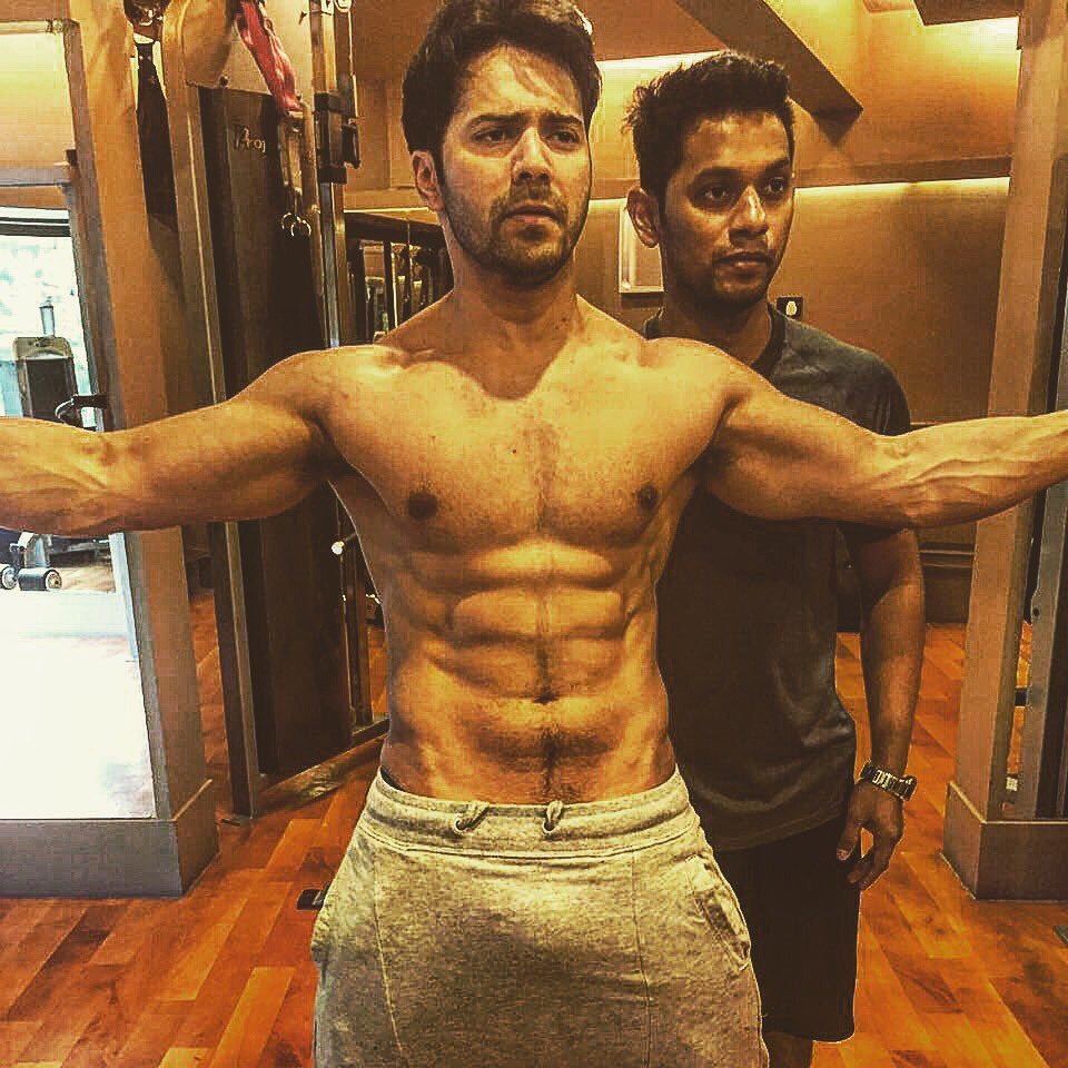 Indian hero gallery pictures images hot stills july 2016 actor varun dhawan hot pics eight pack six packs hot body altavistaventures Images