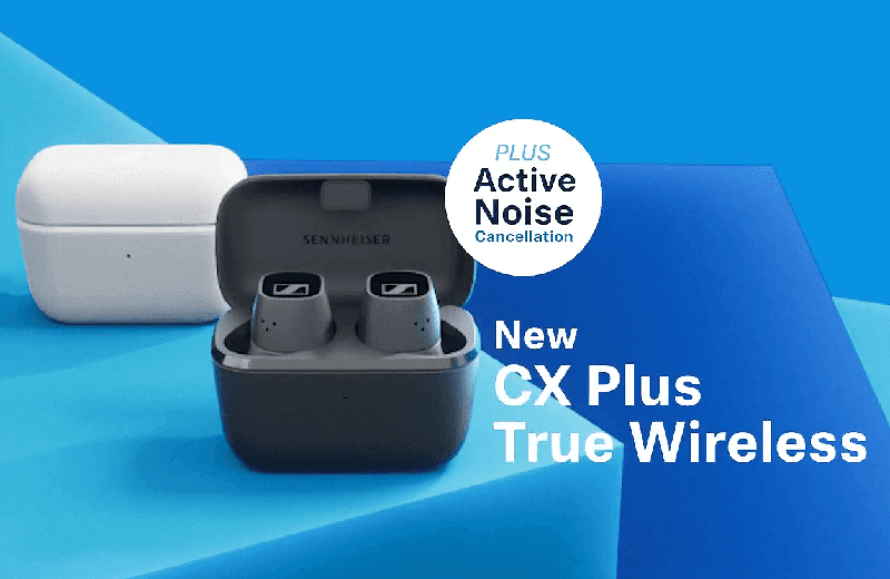 Sennheiser CX Plus TWS earbuds with active noise cancelling now official