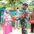 Ungkapan Rasa Syukur Danramil 04/Pulogadung Beri Bantuan ke Wanra/Mitra Koramil.