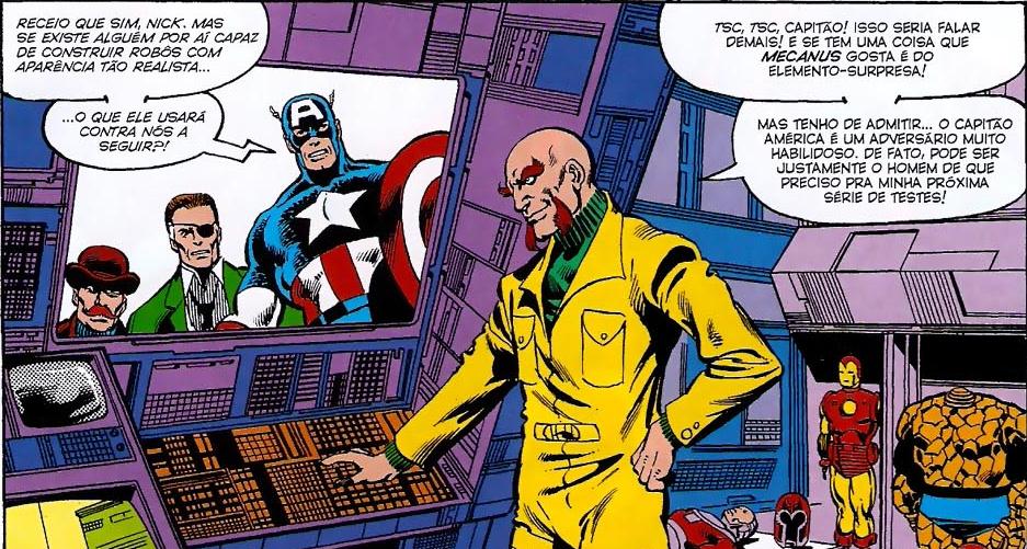 Resultado de imagem para Captain America mecanus