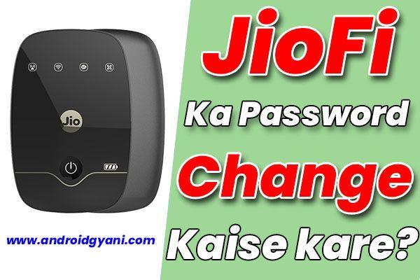 how to reset jiofi | JioFi password change
