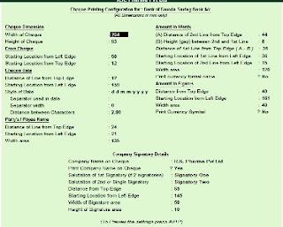 How to Enable Cheque Printing in Tally in Hindi (टैली में चेक की प्रिंटिंग कैसे की जाती है)