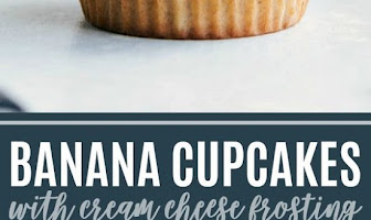 The BEST EVER Banana Cupcakes