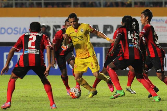 Sriwijaya FC vs Persipura