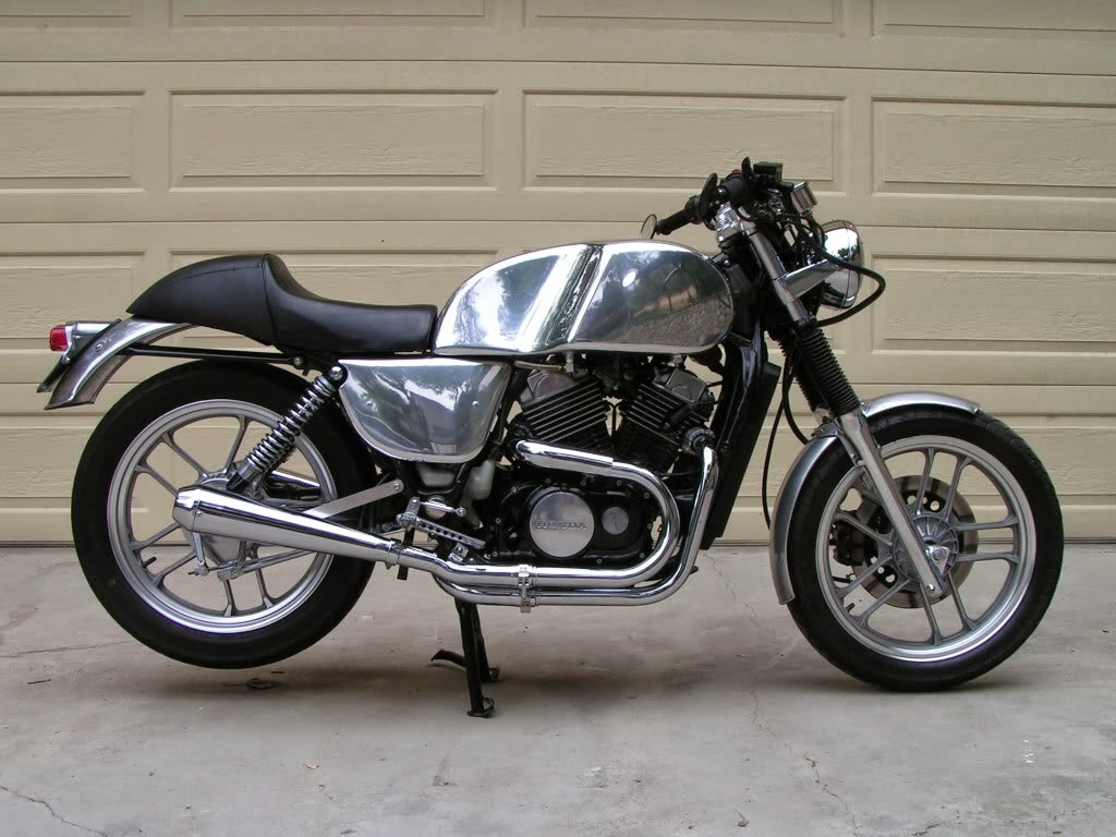 honda ascot cafe racer grease n gas. Black Bedroom Furniture Sets. Home Design Ideas