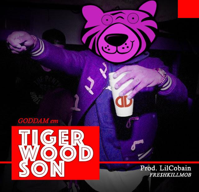 "GODDAM lança o som ""Tiger Wood Son"""