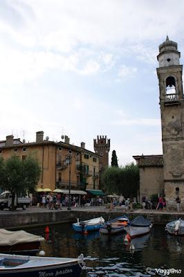 Campanile di San Nicolò e porticciolo della Dogana Veneta