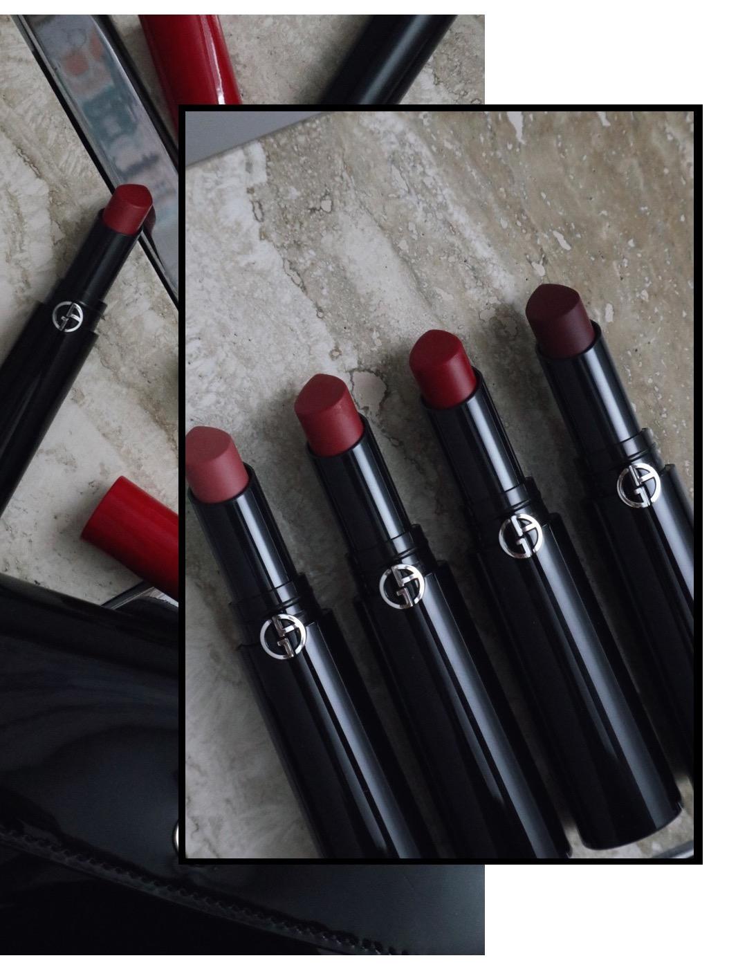 Armani Beauty Lip Power Vivid Colour Long Wear Lipstick: A quick review