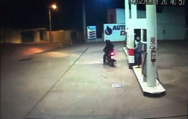 Barra da Estiva: Bandidos cometem assalto à mão armada em posto de combustível