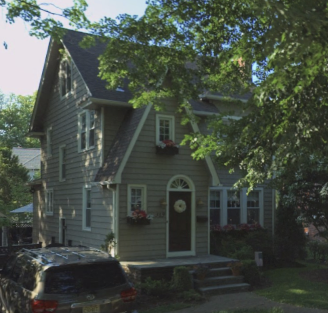 319 Windsor Avenue, Haddonfield, NJ Sears Barrington model Bing maps front view shaded by trees