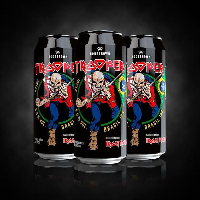 Trooper IPA: Iron Maiden e Bodebrown lançam versão brasileira da cerveja
