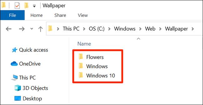 خلفيات الأوراق المالية لنظام التشغيل Windows 10