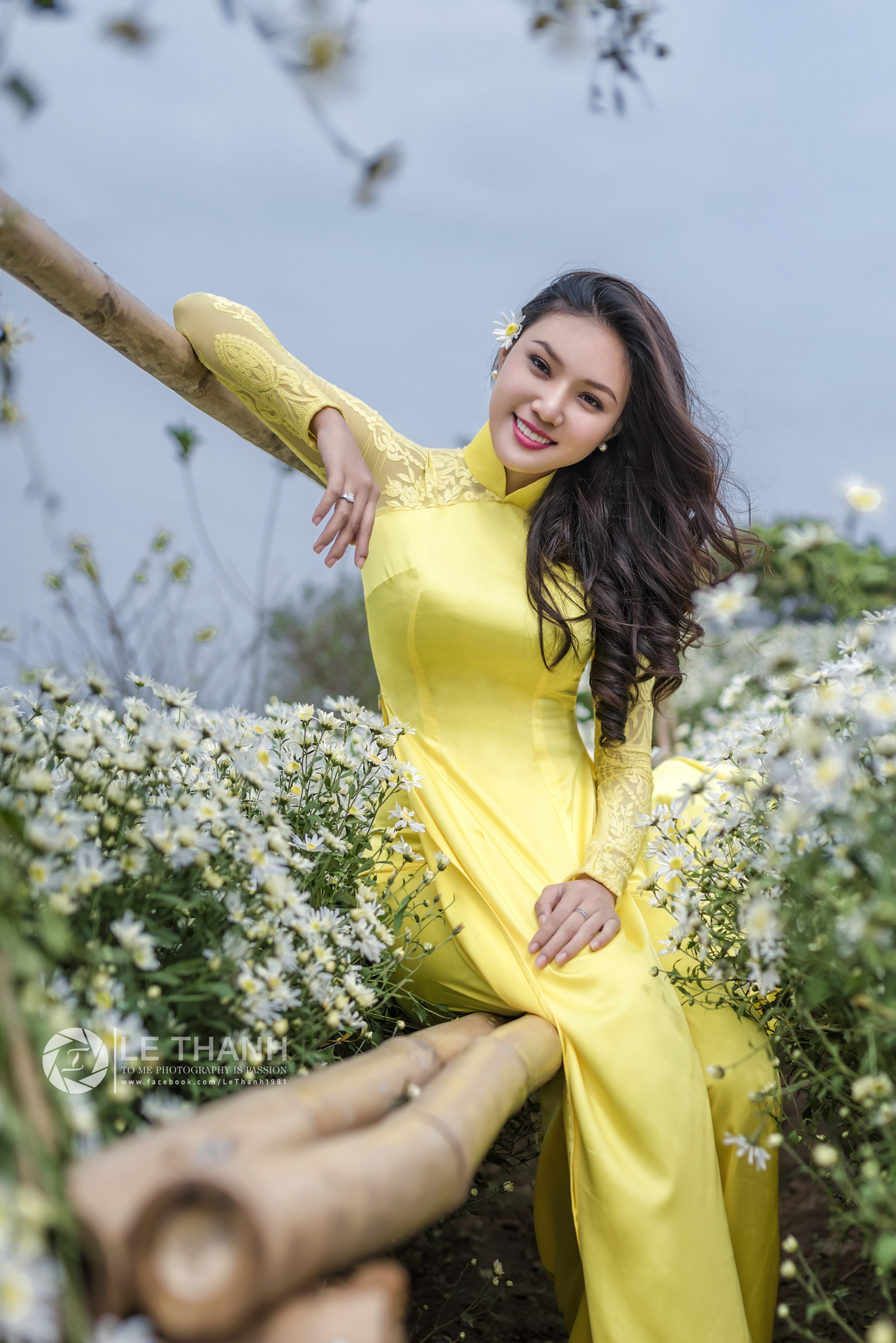 Tuyển tập girl xinh gái đẹp Việt Nam mặc áo dài đẹp mê hồn #60 - 8