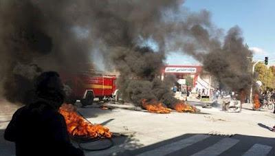 روحاني ووزير الداخلية للنظام يعربان عن فزعهما من أبعاد الانتفاضة