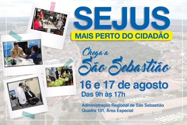 Secretaria de Justiça leva serviços itinerantes a São Sebastião