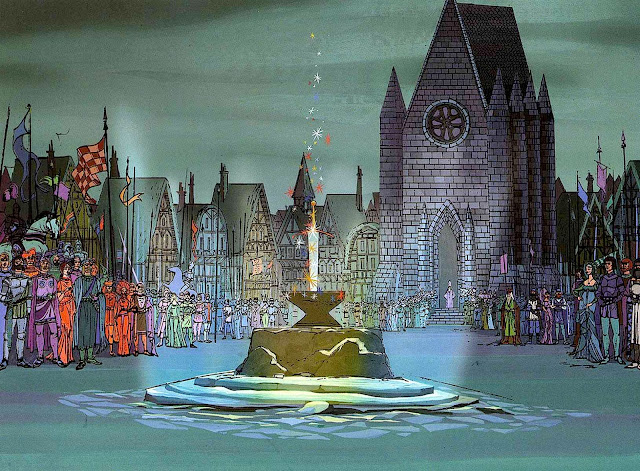 Disney animation 1963, the Sword in the Stone