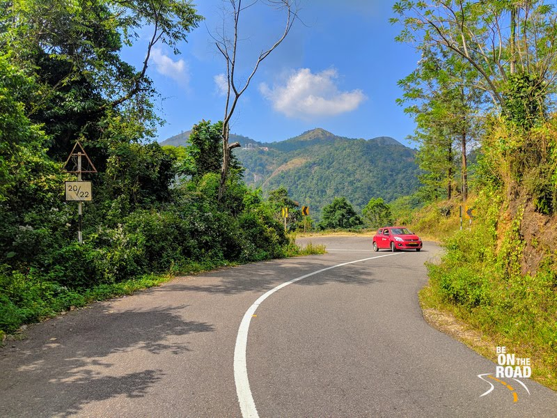 The scenic drive to Kerala's Ponmudi hill station