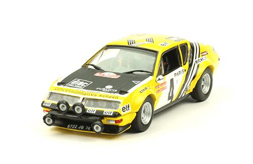 collezione rally monte carlo Alpine-Renault A310 1978 J-P. Nicolas - V. Laverne