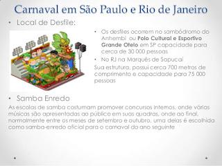 Carnaval em São Paulo e Rio de Janeiro