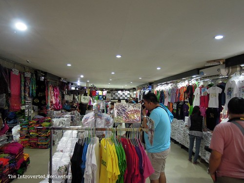 Puerto Princesa Travel Guide: shirts and other items on sale at MCA Market Mall