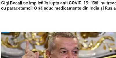 Arbidol și Favipiravir medicamente Gigi Becali preturi mici