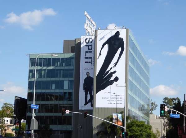 Giant Split movie billboard