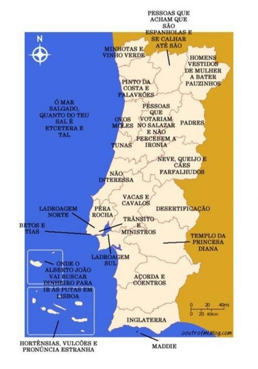 mapa actualizado de portugal Mapa de Portugal actualizado mapa actualizado de portugal
