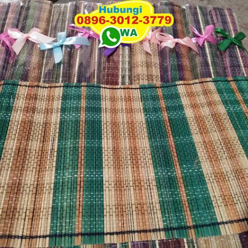toko taplak meja tenun bambu reseller 54127