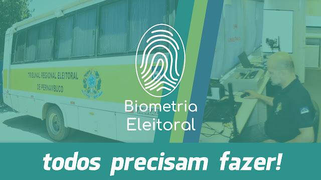 Biometria Eleitoral: todos precisam fazer!